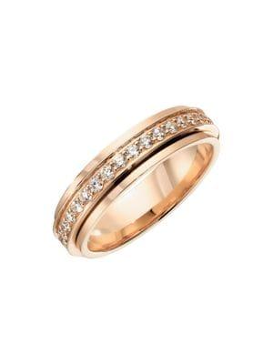Possession 18K Rose Gold Diamond Ring