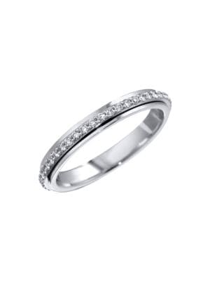 Possession 18K White Gold & Diamond Ring