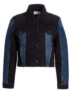 Denim Block Jacket