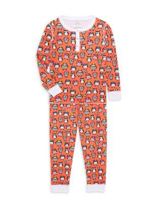 Baby's, Little Kid's & Kid's Owlighans 2-Piece Pajama Set