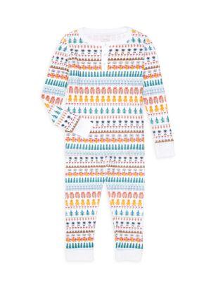 Baby's, Little Girl's & Girl's 2-Piece Animal Print Pajama Set