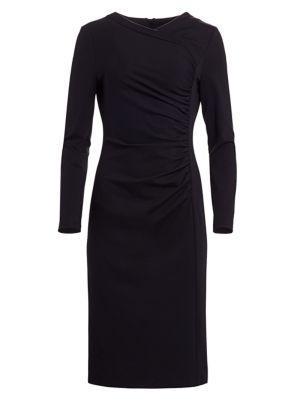 Diasa Ruched Midi Dress