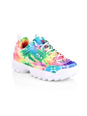 Girl's Disruptor II Tie-Dye Sneakers