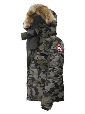 Chelsea Coyote Fur-Trim Down Parka