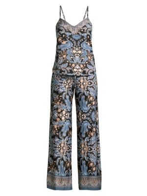 Julia Two-Piece Printed Camisole & Pants Set