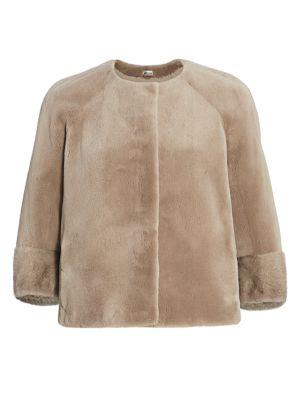 Julia & Stella For The Fur Salon Collarless Mink Jacket