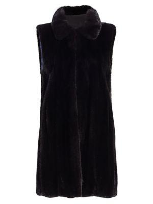 Zac Posen For The Fur Salon Mink Fur Vest