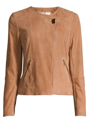 Wine Country Tannin Suede Jacket