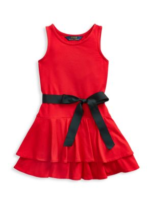Girl's Tiered Sleeveless Dress