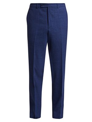 COLLECTION Textured Solid Trousers