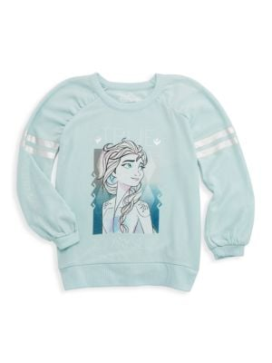 Disney's Frozen 2 Little Girl's & Girl's True To Myself Elsa Pullover