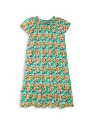 Little Girl's & Girl's Printed Dress