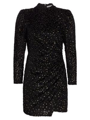 Jane Velvet Mini Dress