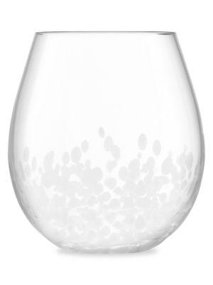 Stipple 2-Piece Glass Tumbler Set
