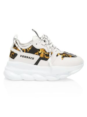 Chain Reaction 2 Western Barocco Platform Sneakers