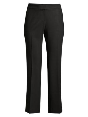 Manhattan Double-Face Flare Ankle Pants