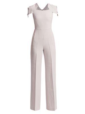 Corella Wool Crepe Jumpsuit