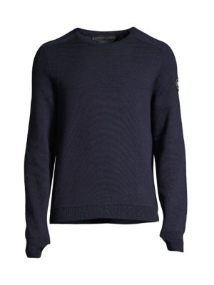 Conway Merino Wool Crewneck Sweater