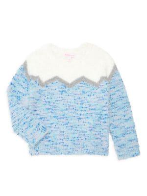 Little Girl's & Girl's Fair Isle Sweater