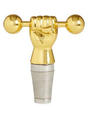 Barbell Bottle Stopper