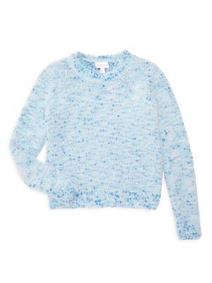 Little Girl's & Girl's Heathered Sweater