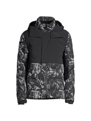 Hybridge CW Element Reflective Down Jacket