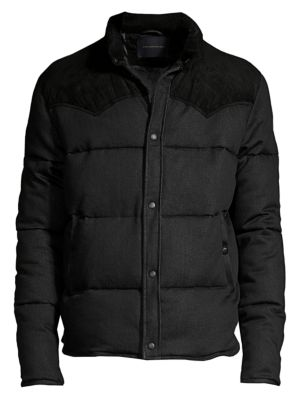 Pacey Western Style Puffer Jacket