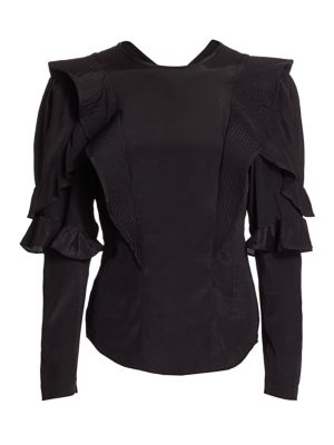 Constance Ruffle Top