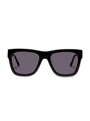 Wrecking Ball 56MM Modern Rectangle Sunglasses