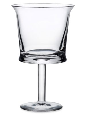 Jour Small Crystal Wine Glass 2-Piece Set