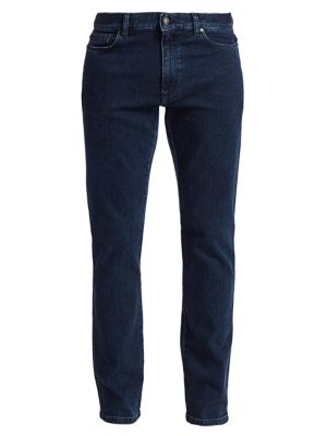 Five-Pocket Cotton Stretch Jeans
