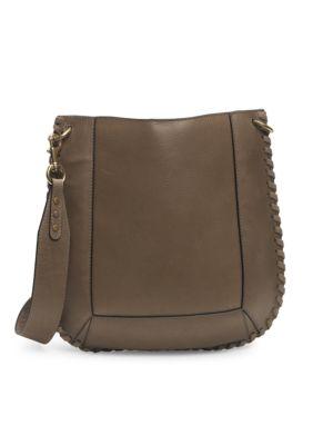 Oskan Braided Leather Hobo Bag