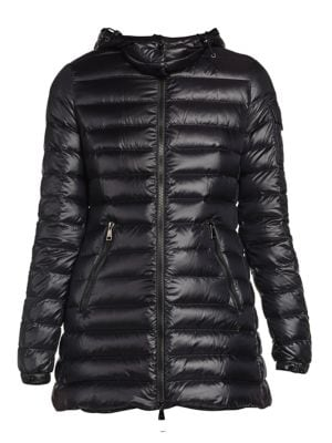 Menthe Giubbotto Hooded Drawstring Puffer Coat