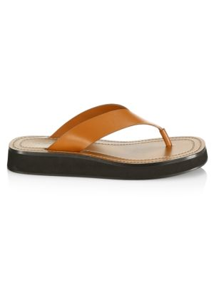 Ginza Leather Thong Sandals
