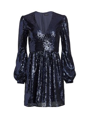 Camille Sequin Mini Dress