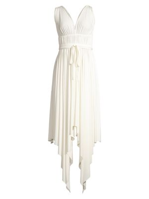 Goddess Handkerchief Maxi Dress
