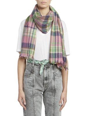 Kuzanne Plaid Scarf
