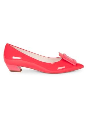 Gommettine Patent Leather Pumps