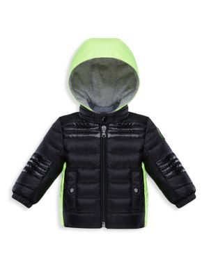 Baby's & Little Boy's Vahitahi Colorblock Down Puff Jacket