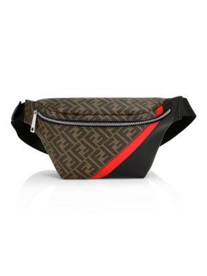 FF Leather Belt Bag