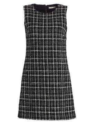 Coley Tweed A-Line Mini Dress