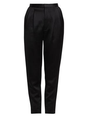 Satin Straight Leg Pants