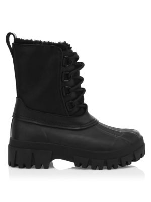 RB Shearling-Lined Suede Winter Boots