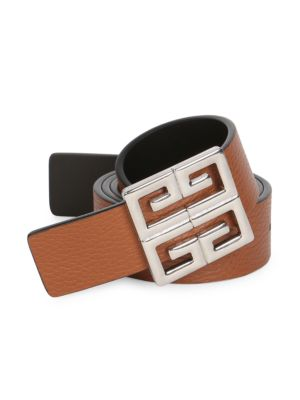 Big Reversible Smooth Leather Belt