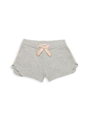 Little Girl's & Girl's Side-Stripe Shorts