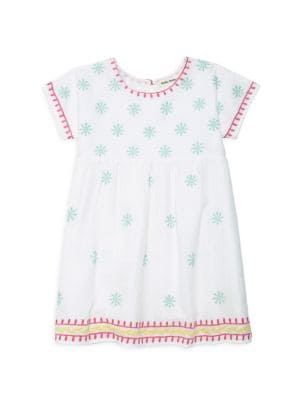 Little Girl's & Girl's Embroidered Dress