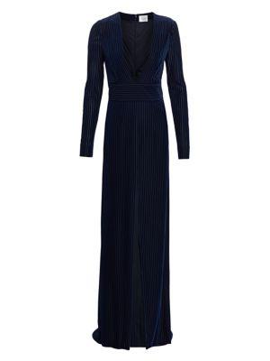 Stardust Velvet Devoré Gown