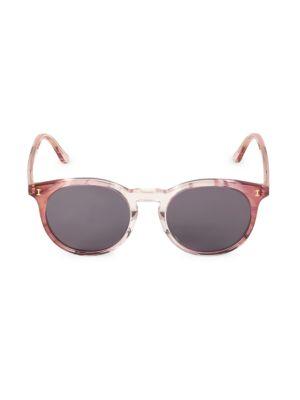 Sterling II 52MM Round Sunglasses