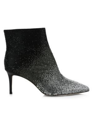 Maesen Ombré Embellished Ankle Boots