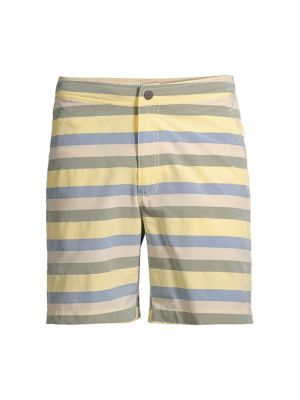 Calder Striped Swim Trunks